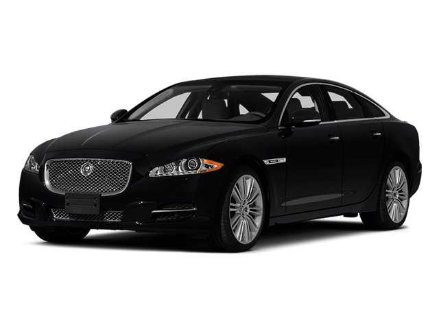 Ebony 2014 Jaguar XJ Pictures XJ Sedan 4D L XJR V8 Supercharged photos front view