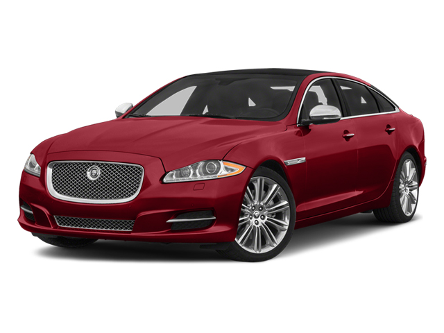 Italian Racing Red 2014 Jaguar XJ Pictures XJ Sedan 4D L Portolio V6 photos front view
