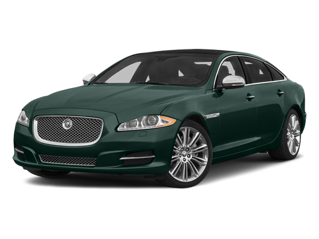 British Racing Green 2014 Jaguar XJ Pictures XJ Sedan 4D L Portolio V6 photos front view