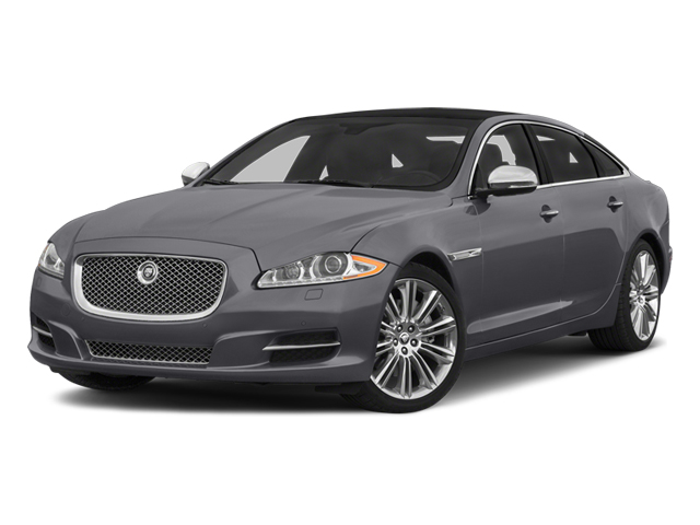 Lunar Grey Metallic 2014 Jaguar XJ Pictures XJ Sedan 4D L Portolio V6 photos front view