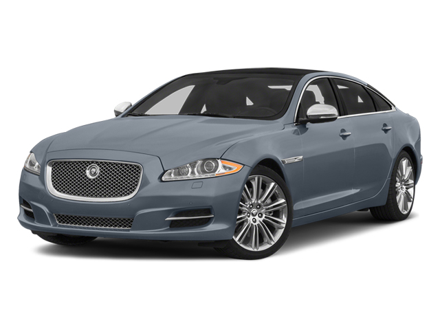 Satellite Grey Metallic 2014 Jaguar XJ Pictures XJ Sedan 4D L Portolio V6 photos front view