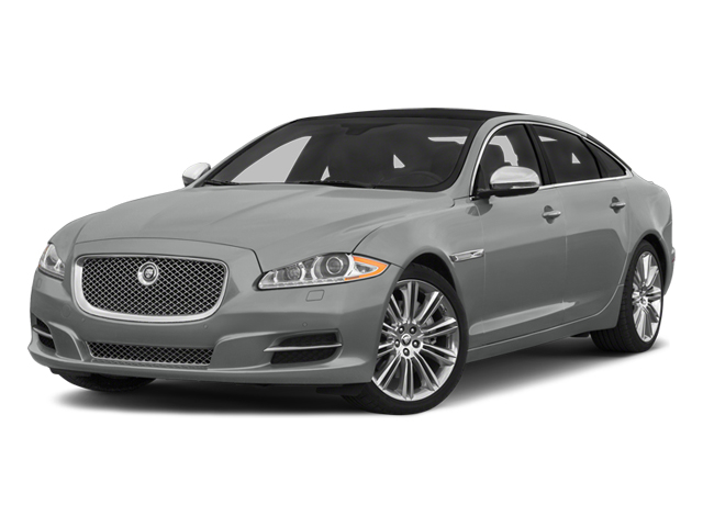 Rhodium Silver Metallic 2014 Jaguar XJ Pictures XJ Sedan 4D L Portolio V6 photos front view