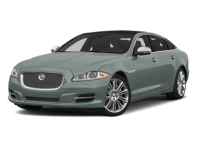 Osmium Blue Metallic 2014 Jaguar XJ Pictures XJ Sedan 4D L Portolio V6 photos front view