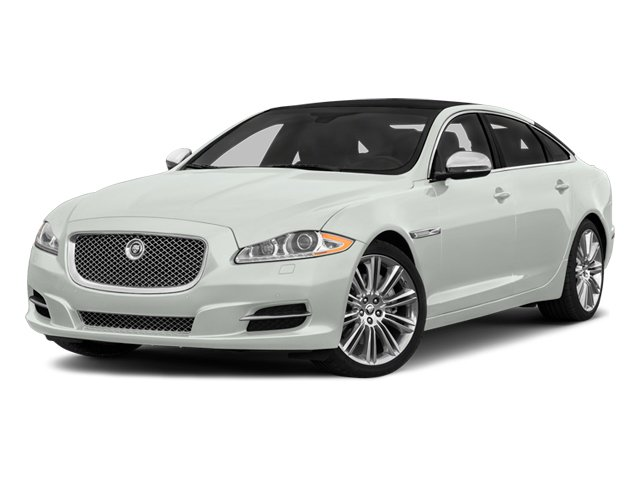 Polaris White 2014 Jaguar XJ Pictures XJ Sedan 4D L Portolio V6 photos front view