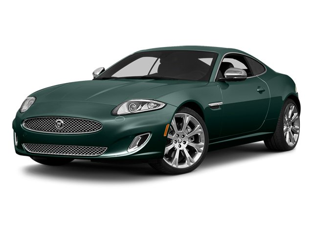 British Racing Green 2014 Jaguar XK Pictures XK Coupe 2D V8 photos front view