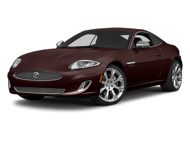 Caviar Metallic 2014 Jaguar XK Pictures XK Coupe 2D V8 photos front view