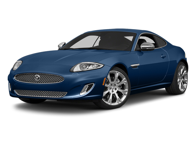 Osmium Blue Metallic 2014 Jaguar XK Pictures XK Coupe 2D V8 photos front view