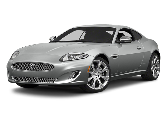 Rhodium Silver Metallic 2014 Jaguar XK Pictures XK Coupe 2D V8 photos front view