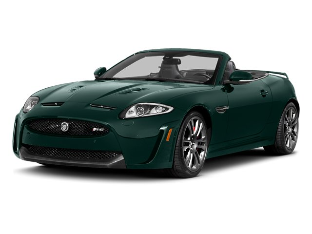 British Racing Green 2014 Jaguar XK Pictures XK Convertible 2D XKR-S V8 Supercharged photos front view