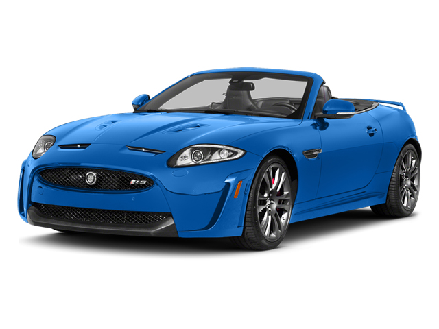 French Racing Blue 2014 Jaguar XK Pictures XK Convertible 2D XKR-S V8 Supercharged photos front view