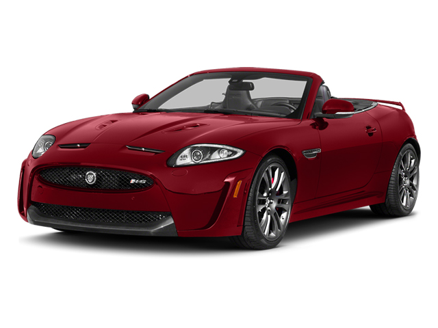 Italian Racing Red 2014 Jaguar XK Pictures XK Convertible 2D XKR-S V8 Supercharged photos front view