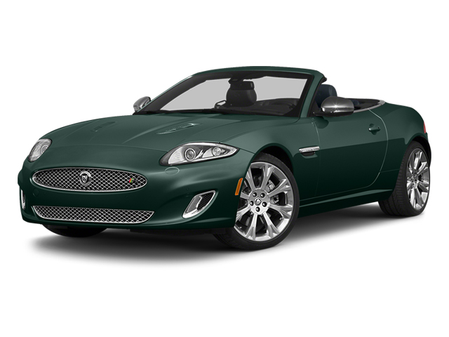 British Racing Green 2014 Jaguar XK Pictures XK Convertible 2D XKR V8 Supercharged photos front view