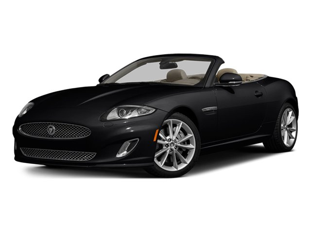 Ebony 2014 Jaguar XK Pictures XK Convertible 2D Touring V8 photos front view