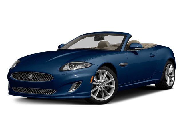 Indigo Blue Metallic 2014 Jaguar XK Pictures XK Convertible 2D Touring V8 photos front view
