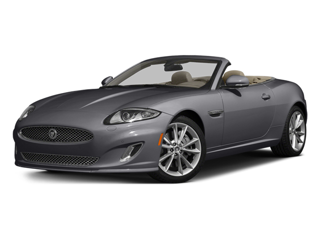 Lunar Gray Metallic 2014 Jaguar XK Pictures XK Convertible 2D Touring V8 photos front view
