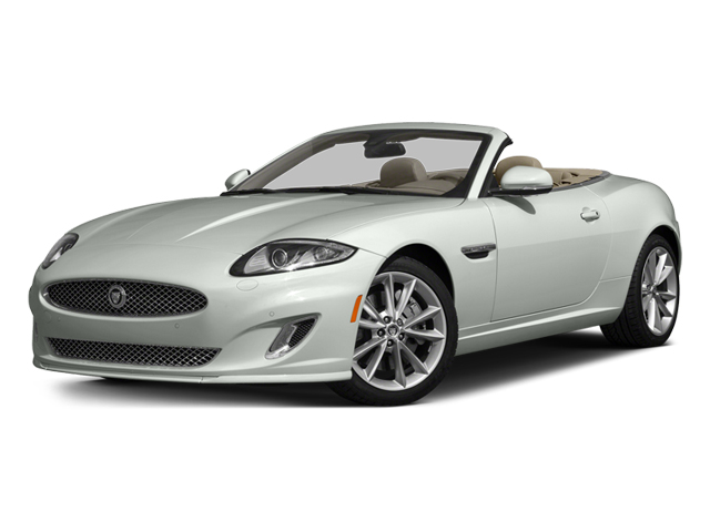 Polaris White 2014 Jaguar XK Pictures XK Convertible 2D Touring V8 photos front view