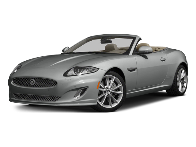 Rhodium Silver Metallic 2014 Jaguar XK Pictures XK Convertible 2D Touring V8 photos front view