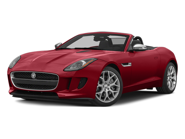 Italian Racing Red 2014 Jaguar F-TYPE Pictures F-TYPE Convertible 2D V6 photos front view