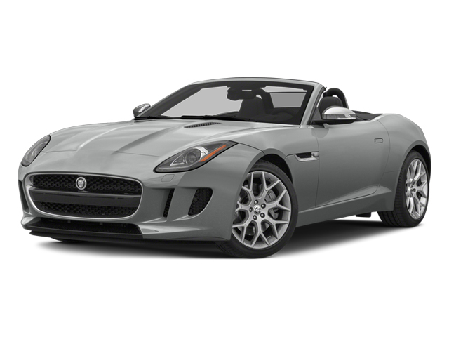 Rhodium Silver Metallic 2014 Jaguar F-TYPE Pictures F-TYPE Convertible 2D V6 photos front view