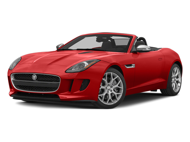 Salsa Red 2014 Jaguar F-TYPE Pictures F-TYPE Convertible 2D V6 photos front view