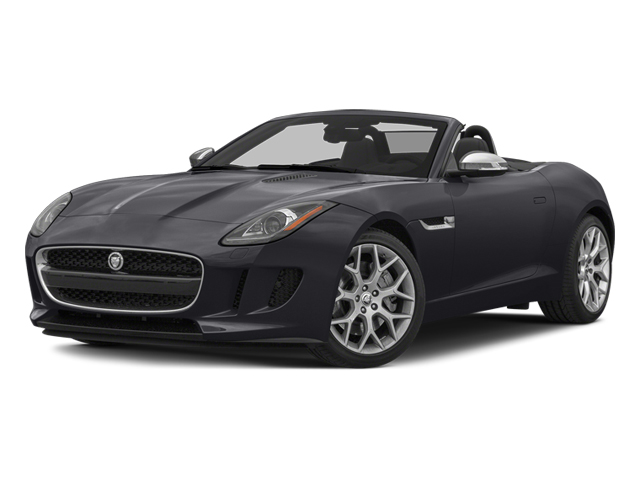 Stratus Gray Metallic 2014 Jaguar F-TYPE Pictures F-TYPE Convertible 2D V6 photos front view