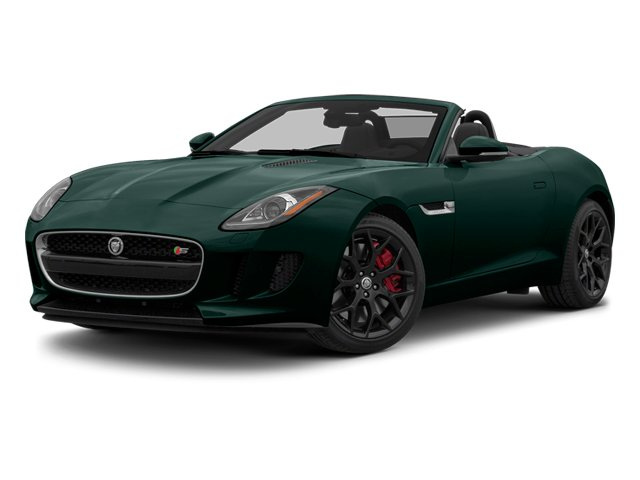 British Racing Green 2014 Jaguar F-TYPE Pictures F-TYPE Convertible 2D S V6 photos front view