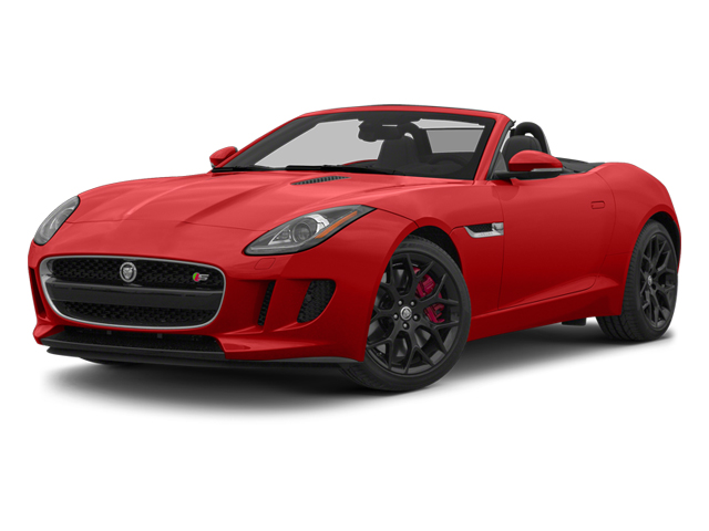 Salsa Red 2014 Jaguar F-TYPE Pictures F-TYPE Convertible 2D S V6 photos front view