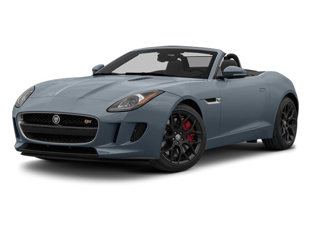 Satellite Gray Metallic 2014 Jaguar F-TYPE Pictures F-TYPE Convertible 2D S V6 photos front view