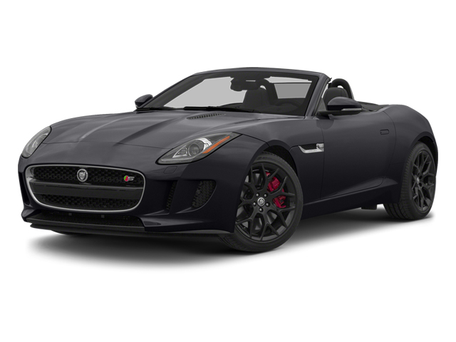 Stratus Gray Metallic 2014 Jaguar F-TYPE Pictures F-TYPE Convertible 2D S V6 photos front view