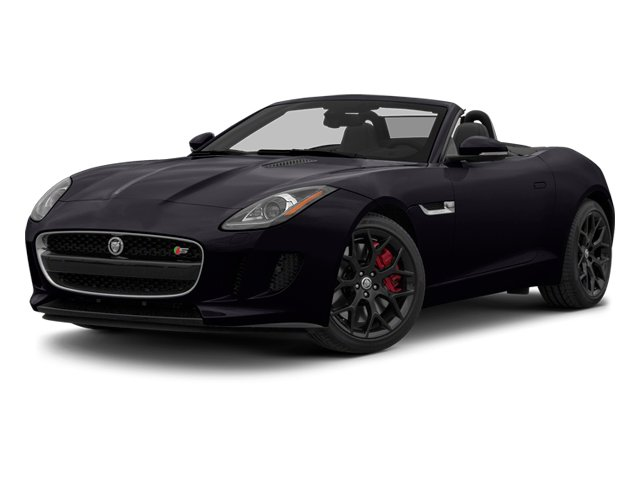 Ultimate Black Metallic 2014 Jaguar F-TYPE Pictures F-TYPE Convertible 2D S V6 photos front view