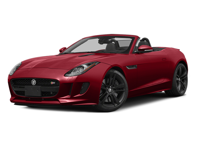 Italian Racing Red 2014 Jaguar F-TYPE Pictures F-TYPE Convertible 2D S V8 photos front view
