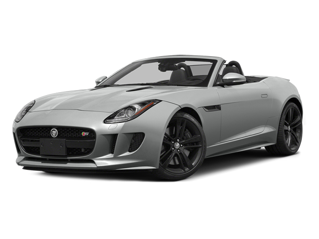 Rhodium Silver Metallic 2014 Jaguar F-TYPE Pictures F-TYPE Convertible 2D S V8 photos front view