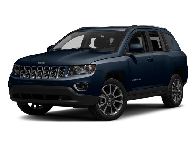 True Blue Pearlcoat 2014 Jeep Compass Pictures Compass Utility 4D Altitude 4WD photos front view