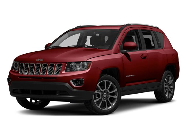 Deep Cherry Red Crystal Pearlcoat 2014 Jeep Compass Pictures Compass Utility 4D Altitude 4WD photos front view