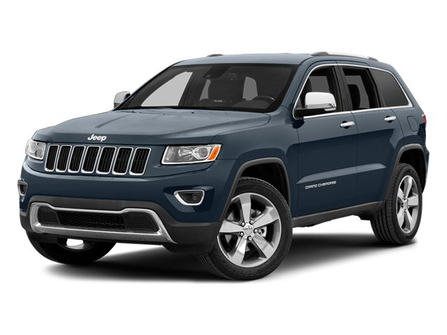 Pacific Blue Clearcoat 2014 Jeep Grand Cherokee Pictures Grand Cherokee Utility 4D Overland 2WD photos front view