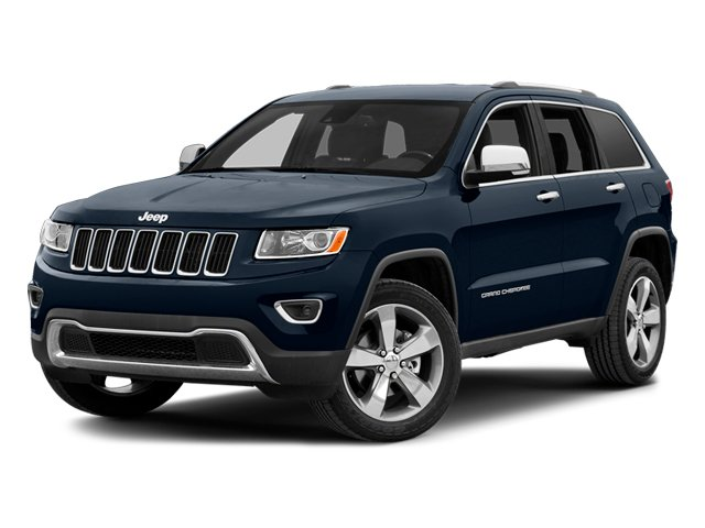 True Blue Pearlcoat 2014 Jeep Grand Cherokee Pictures Grand Cherokee Utility 4D Limited Diesel 4WD photos front view