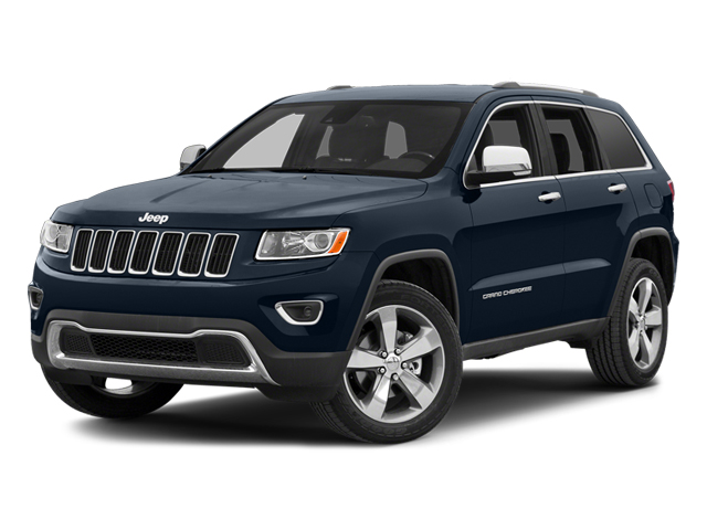 True Blue Pearlcoat 2014 Jeep Grand Cherokee Pictures Grand Cherokee Utility 4D Overland 2WD photos front view