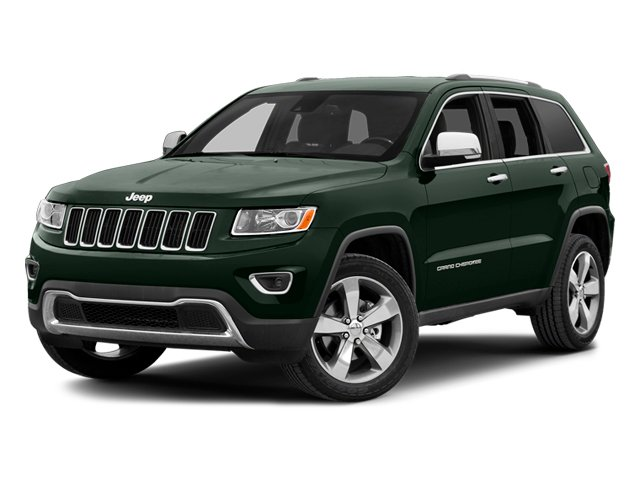 Black Forest Green Pearlcoat 2014 Jeep Grand Cherokee Pictures Grand Cherokee Utility 4D Overland 2WD photos front view