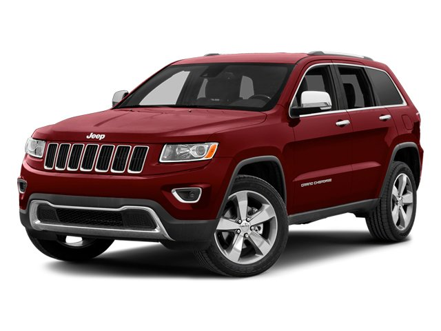 Deep Cherry Red Crystal Pearlcoat 2014 Jeep Grand Cherokee Pictures Grand Cherokee Utility 4D Overland 2WD photos front view