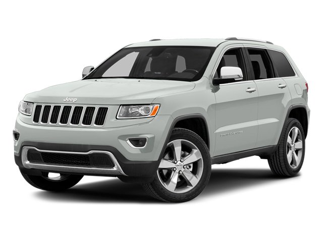 Bright White Clearcoat 2014 Jeep Grand Cherokee Pictures Grand Cherokee Utility 4D Overland 2WD photos front view