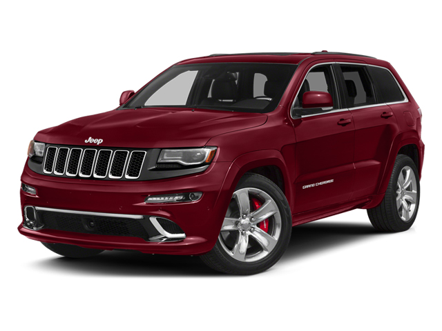 Deep Cherry Red Crystal Pearlcoat 2014 Jeep Grand Cherokee Pictures Grand Cherokee Utility 4D SRT-8 4WD photos front view