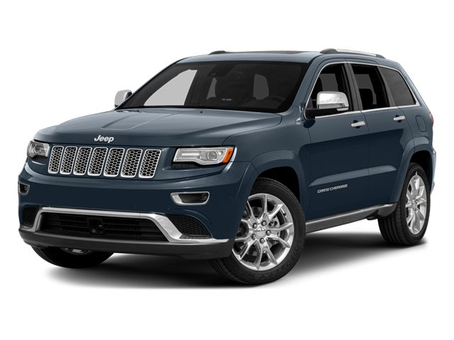 Pacific Blue Clearcoat 2014 Jeep Grand Cherokee Pictures Grand Cherokee Utility 4D Summit Diesel 2WD photos front view