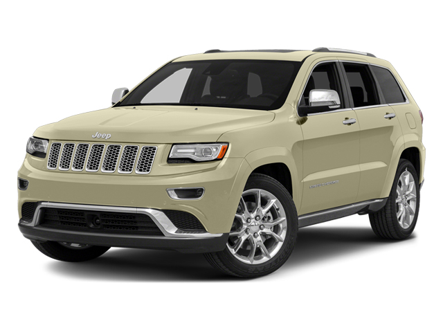 Cashmere Pearlcoat 2014 Jeep Grand Cherokee Pictures Grand Cherokee Utility 4D Summit 4WD photos front view