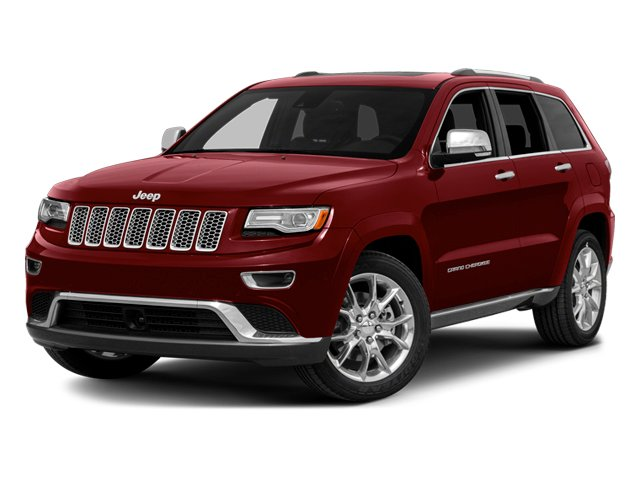 Deep Cherry Red Crystal Pearlcoat 2014 Jeep Grand Cherokee Pictures Grand Cherokee Utility 4D Summit Diesel 2WD photos front view