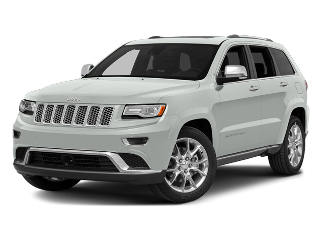Bright White Clearcoat 2014 Jeep Grand Cherokee Pictures Grand Cherokee Utility 4D Summit Diesel 2WD photos front view
