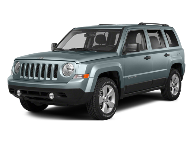 Winter Chill Pearlcoat 2014 Jeep Patriot Pictures Patriot Utility 4D Latitude 4WD photos front view