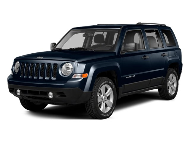 True Blue Pearlcoat 2014 Jeep Patriot Pictures Patriot Utility 4D Latitude 4WD photos front view