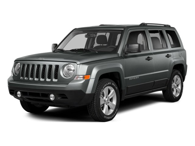 Mineral Gray Metallic Clearcoat 2014 Jeep Patriot Pictures Patriot Utility 4D Latitude 4WD photos front view