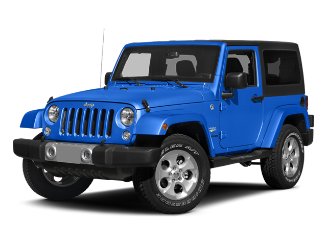 Hydro Blue Pearl Coat 2014 Jeep Wrangler Pictures Wrangler Utility 2D Altitude 4WD V6 photos front view