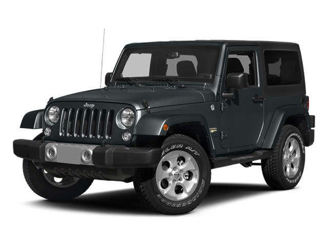 Anvil Clear Coat 2014 Jeep Wrangler Pictures Wrangler Utility 2D Rubicon 4WD V6 photos front view